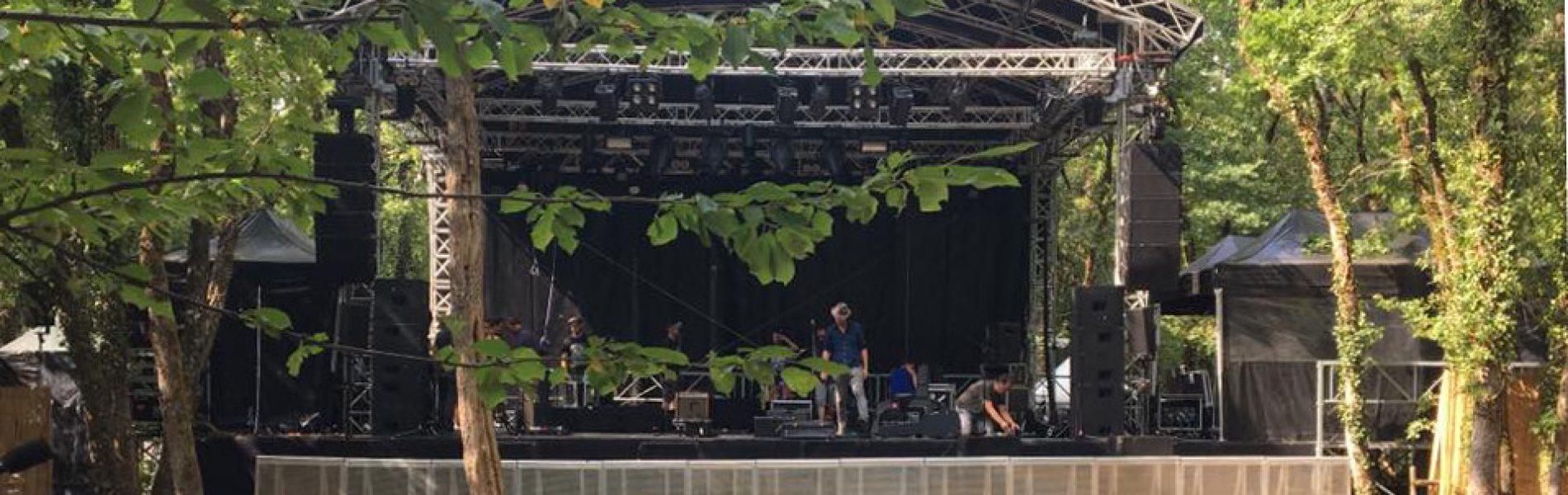 scène festival de la Motte