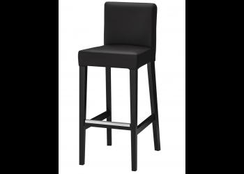 chaise haute noire
