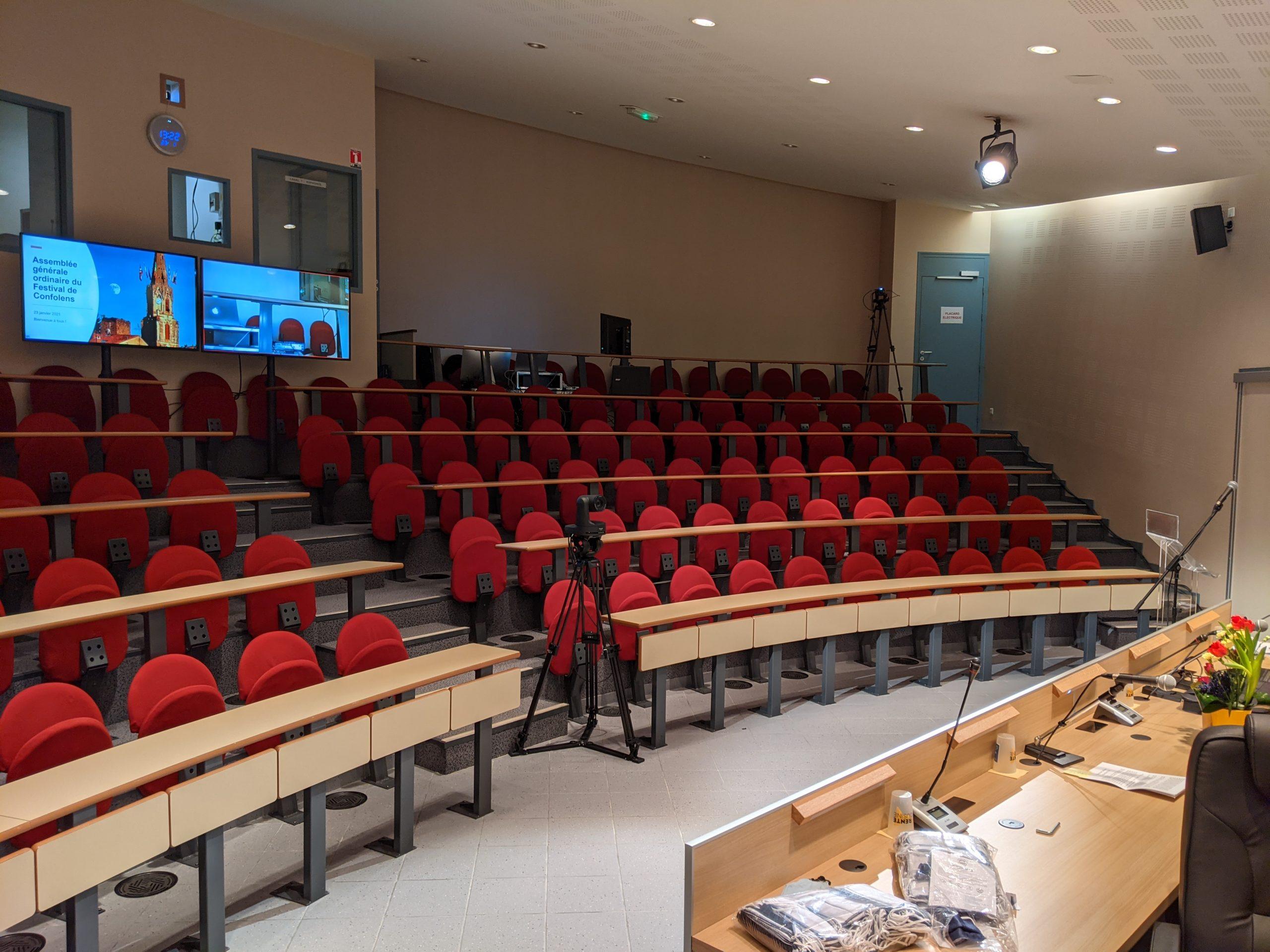 auditorium confolens