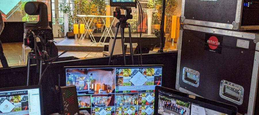 régie vidéo streaming cognac